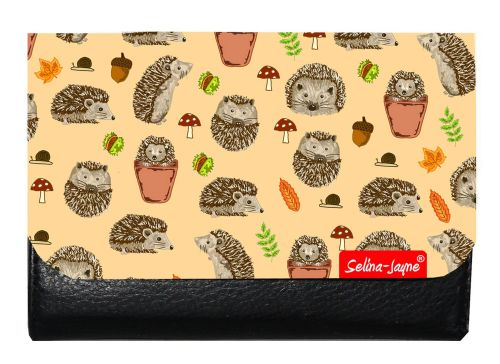Selina-Jayne Hedgehogs Limited Edition Designer Small Purse